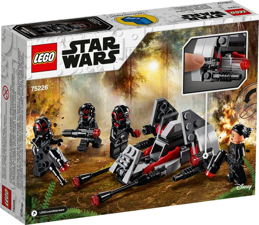 LEGO® Star Wars Inferno Squad™ Battle Pack back of the box