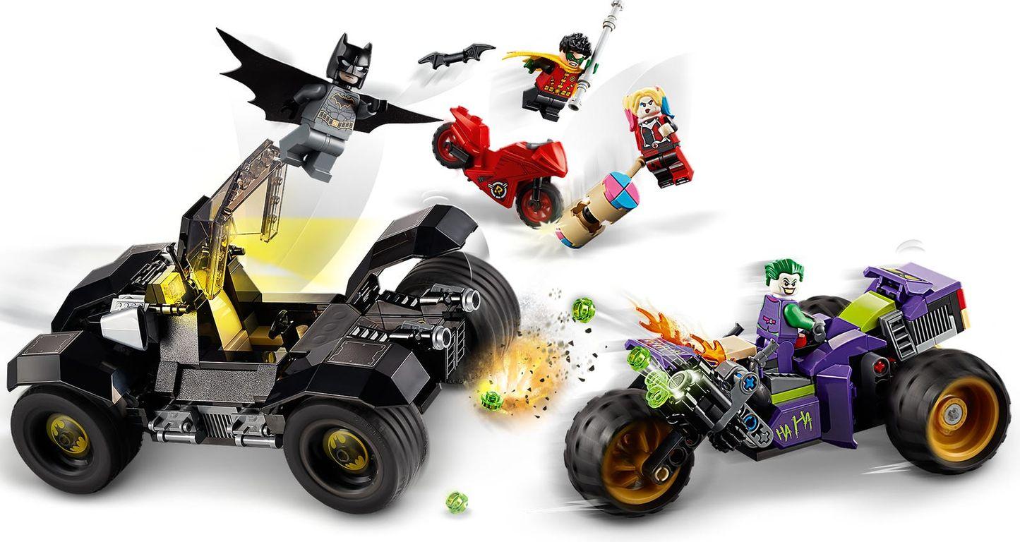 LEGO® DC Superheroes Joker's Trike Chase gameplay
