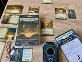 Arkham Horror: The Card Game – Murder at the Excelsior Hotel: Scenario Pack components