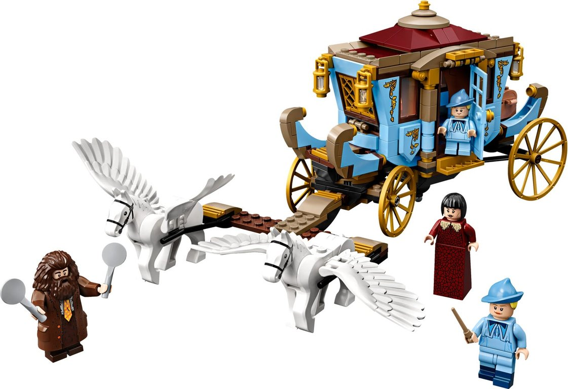 LEGO® Harry Potter™ Beauxbatons' Carriage: Arrival at Hogwarts™ components