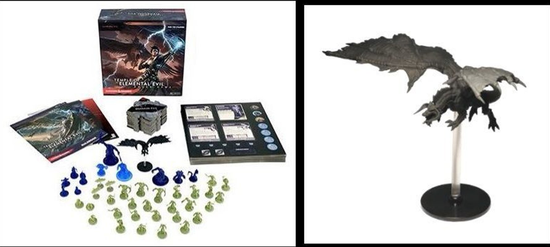 Dungeons and Dragons: Temple of Elemental Evil partes