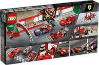 LEGO® Speed Champions Ferrari Ultimate Garage back of the box
