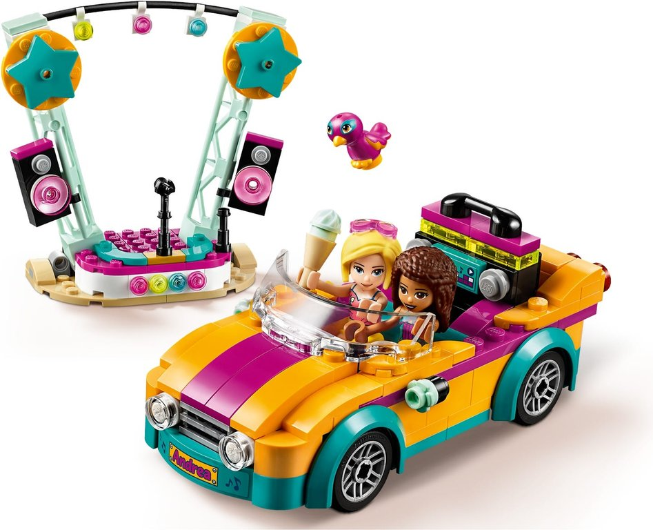 LEGO® Friends Andrea's Car & Stage gameplay