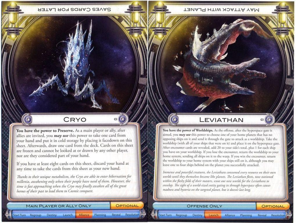 Cosmic Encounter: Cosmic Incursion cards