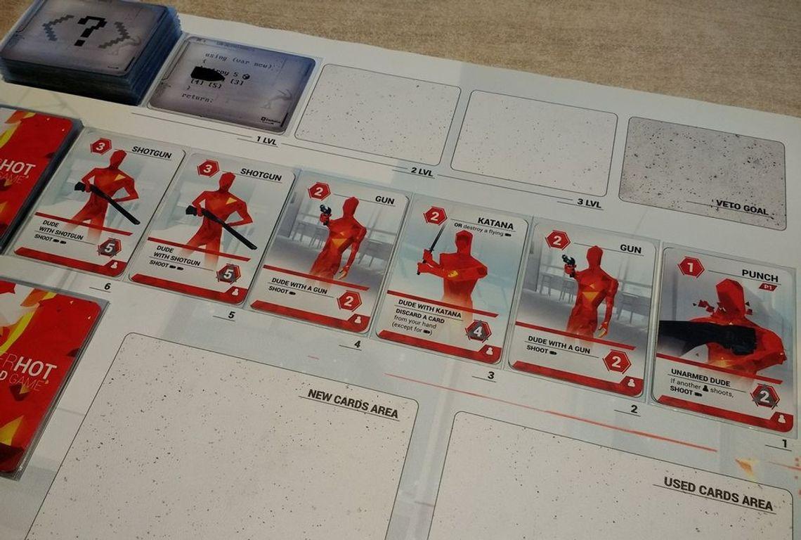 SUPERHOT Card Game cards