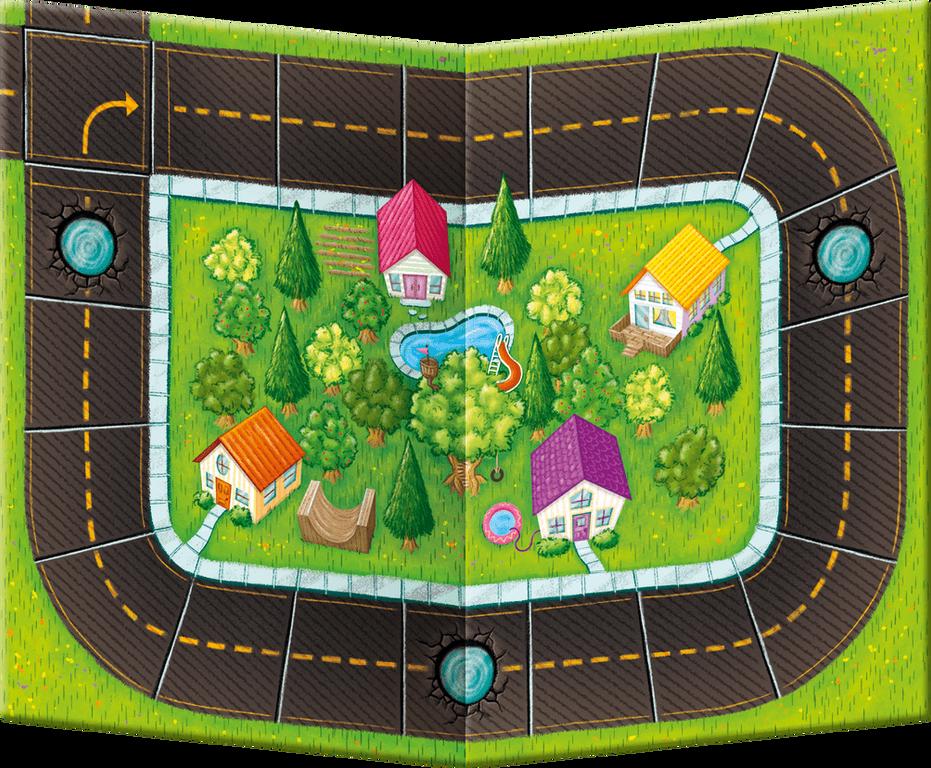 Rocky Road à la Mode game board