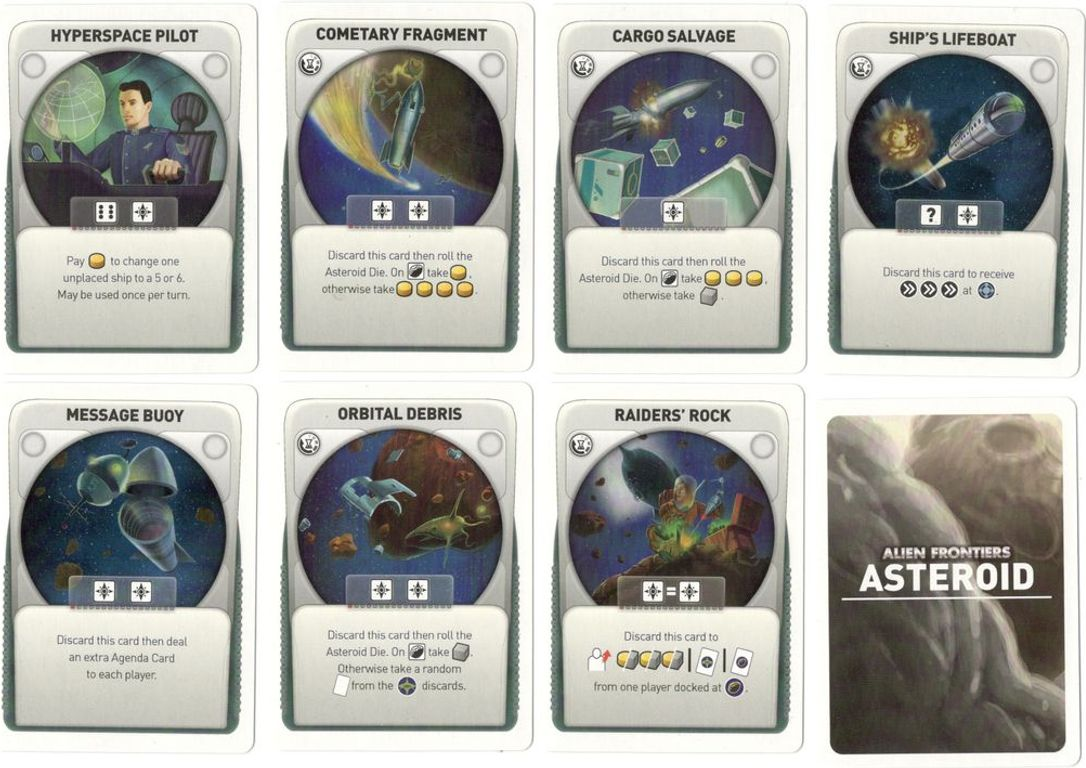 Alien Frontiers: Expansion Pack #6 cards