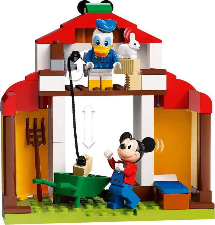 LEGO® Disney Mickey Mouse & Donald Duck's Farm minifigures