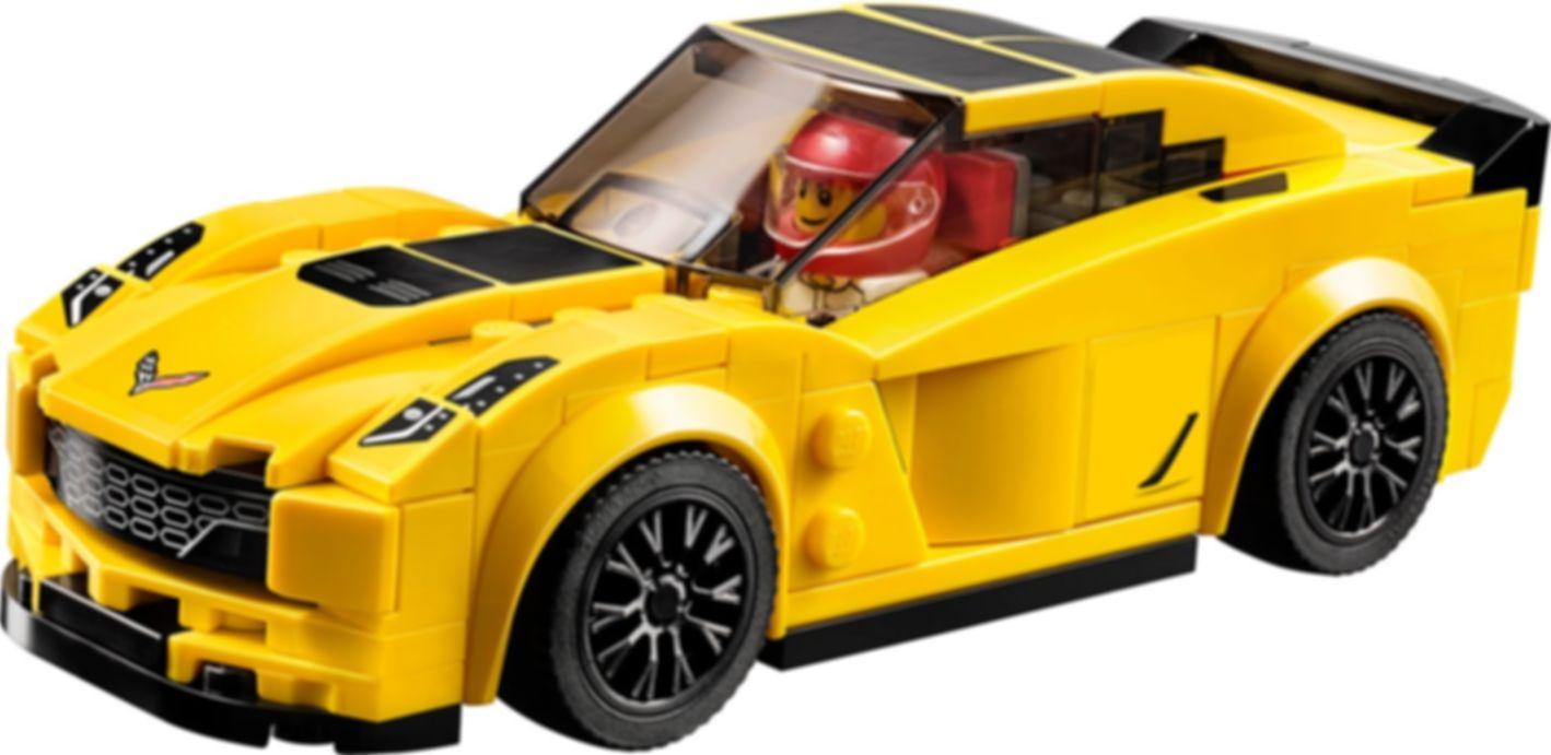 LEGO® Speed Champions Chevrolet Corvette Z06 gameplay
