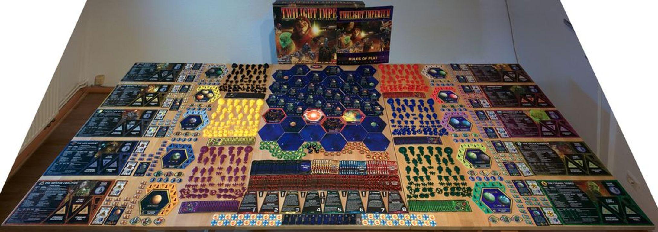 Twilight Imperium (Third Edition) components