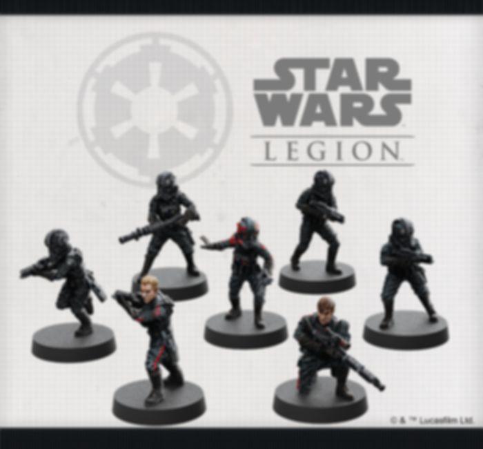 Star Wars: Legion – Inferno Squad Unit Expansion miniatures