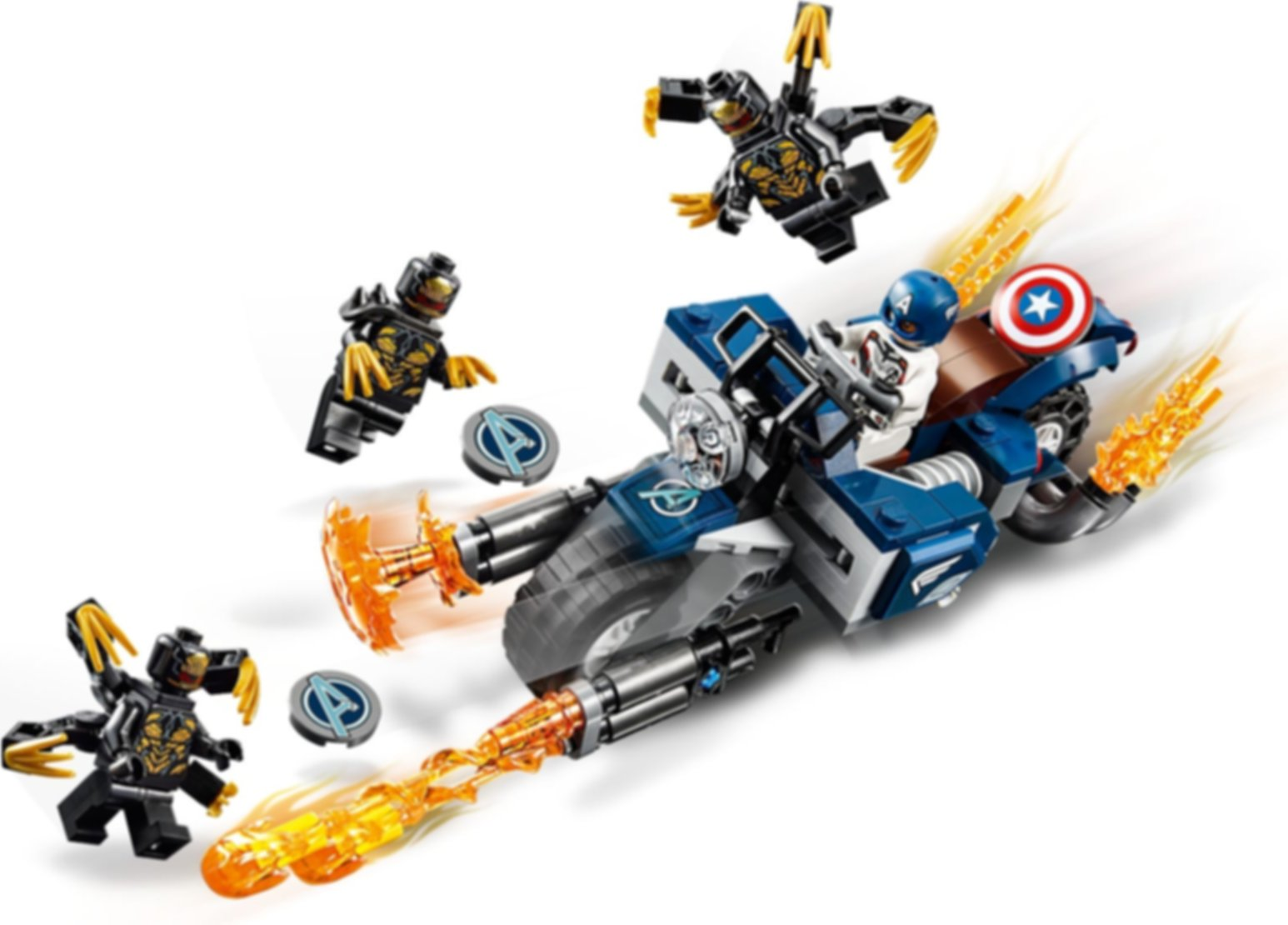 Captain America: Outriders Attack gameplay