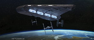 Star Wars: Armada – Imperial Light Carrier Expansion Pack gameplay