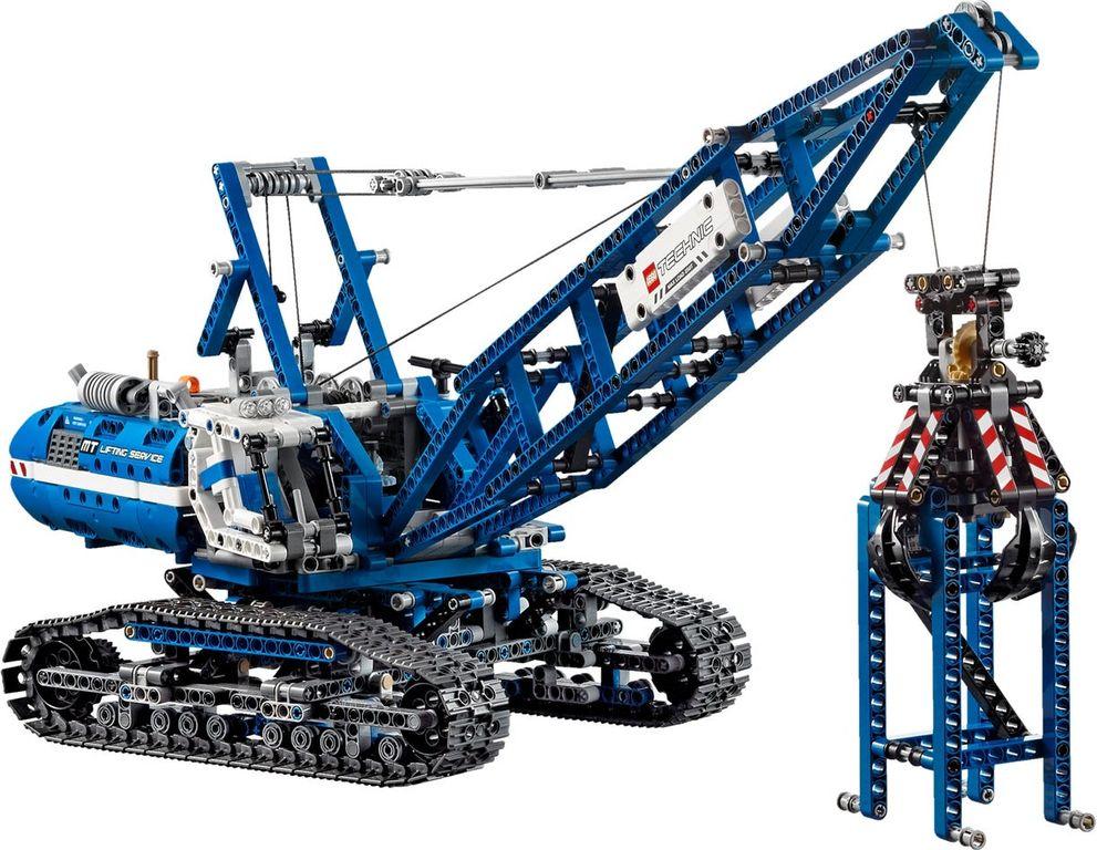LEGO® Technic Crawler Crane components