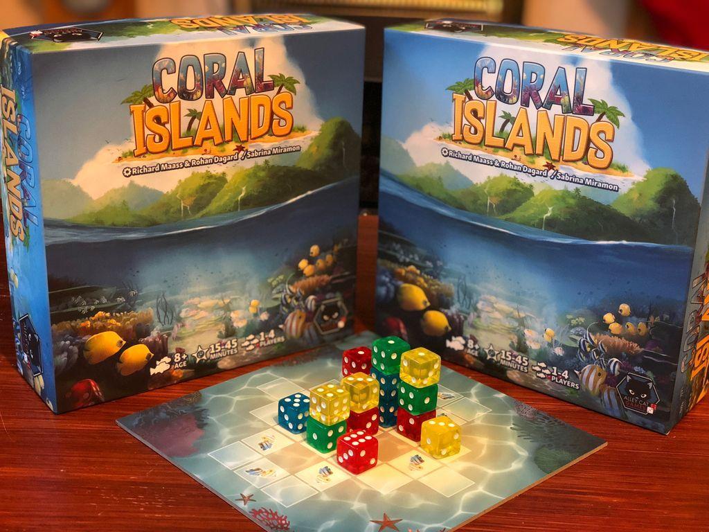 Coral Islands components