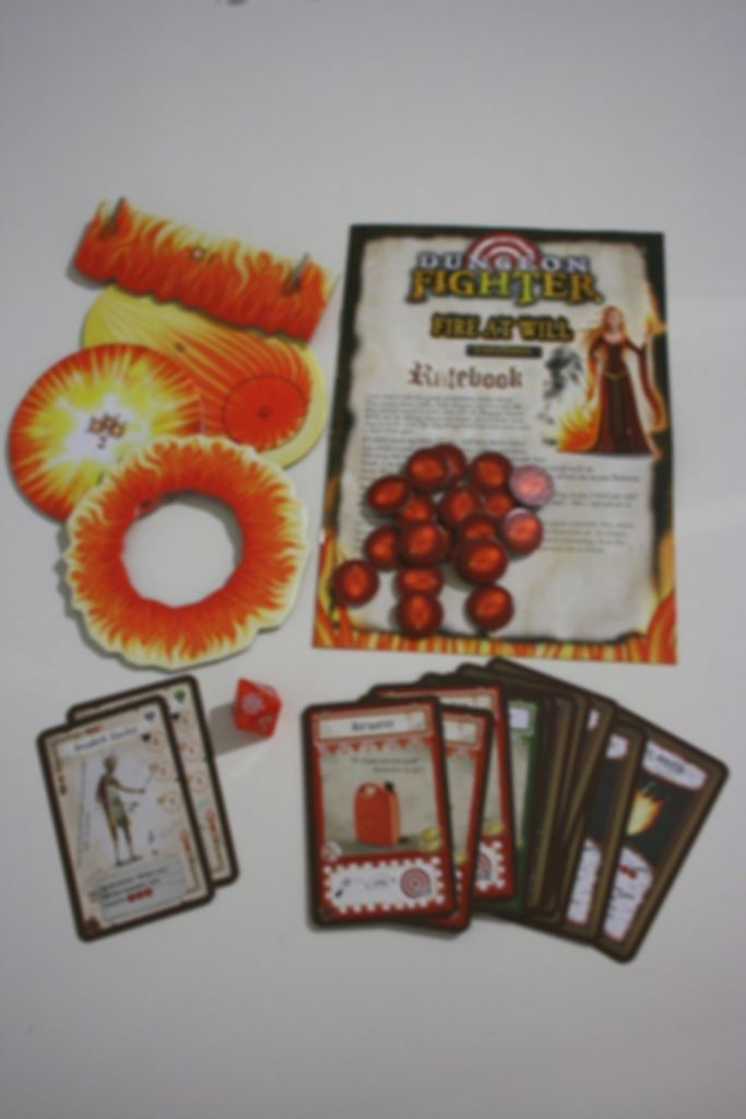 Dungeon Fighter: Fire at Will components