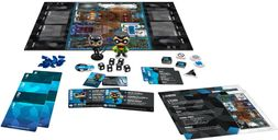 Funkoverse Strategy Game: DC Batman 101 components