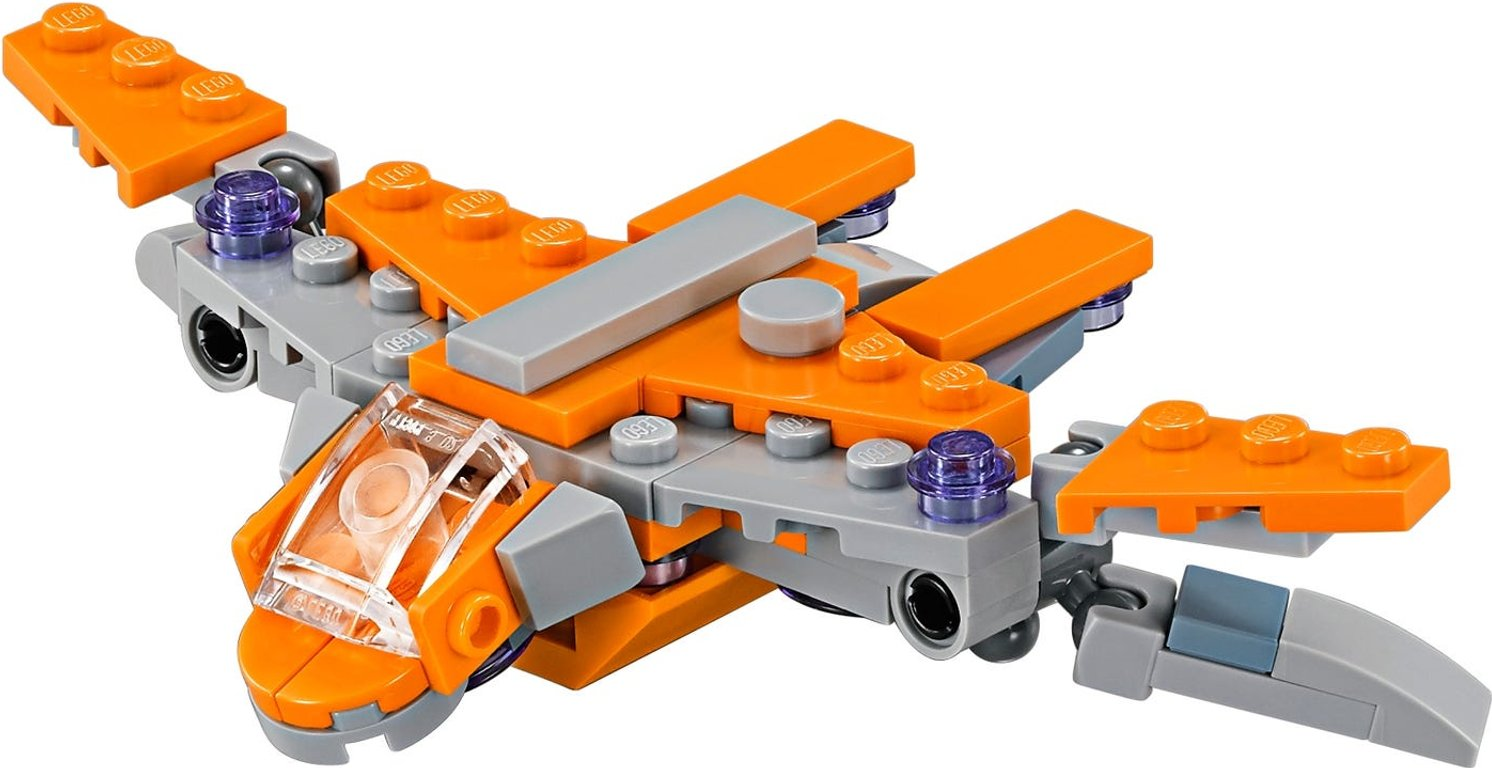 LEGO® Marvel The Guardians' Ship components