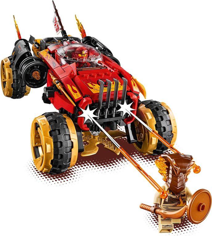 LEGO® Ninjago Katana 4x4 components