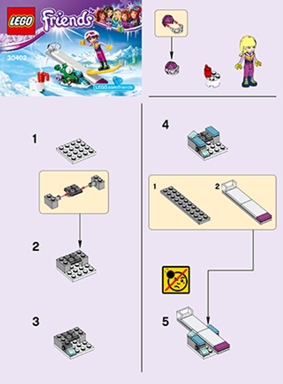 LEGO® Friends Snowboard Tricks manual