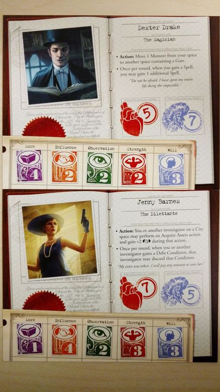 Eldritch Horror: Signs of Carcosa cards