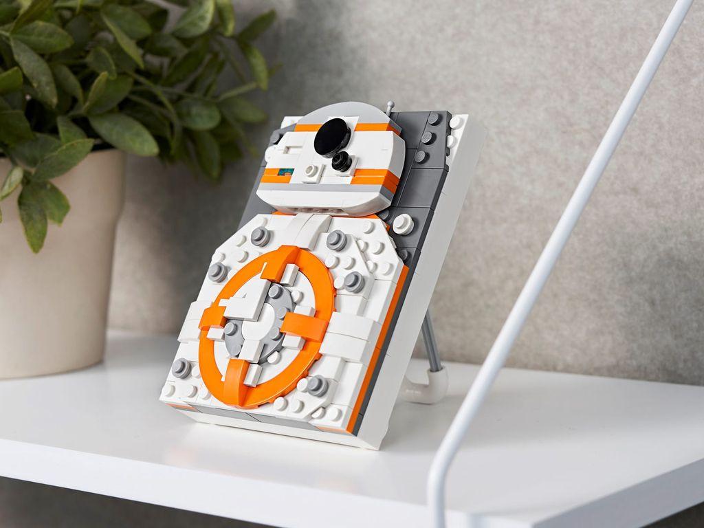 LEGO® Brick Sketches™ BB-8™ components
