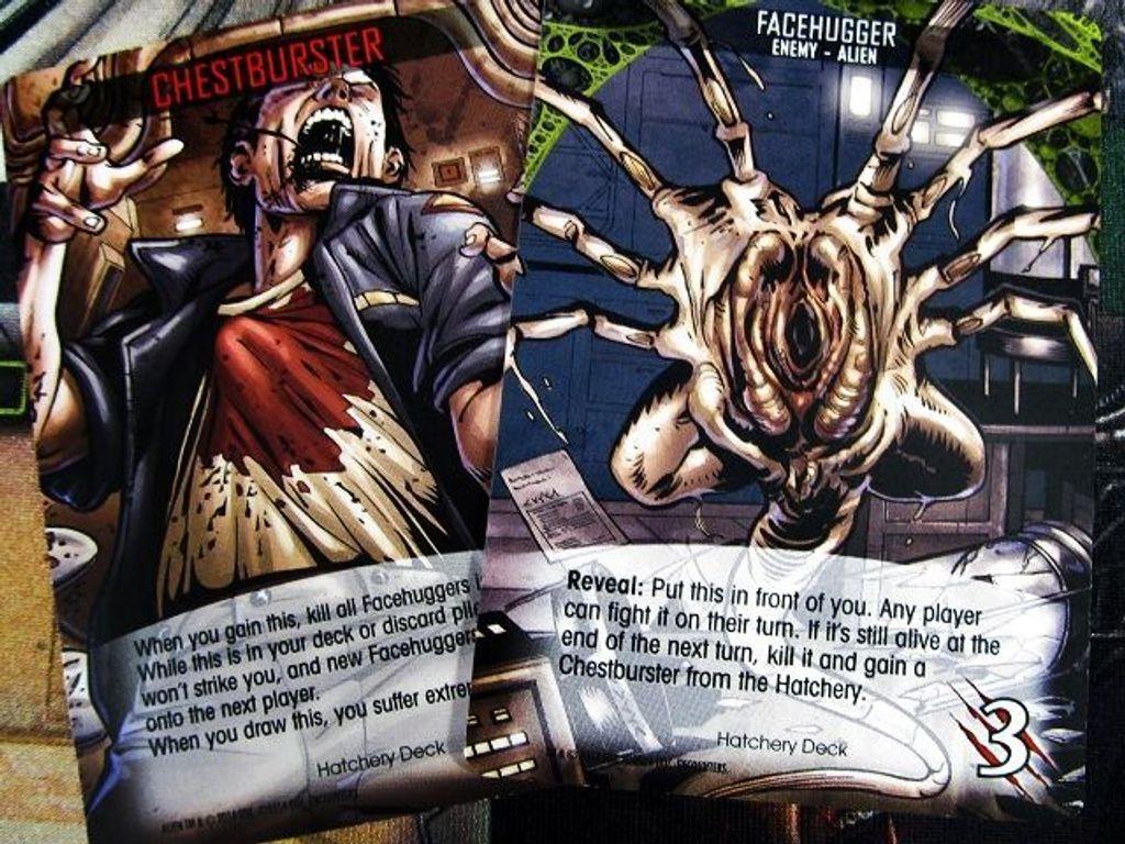 Legendary Encounters: An Alien Deck Building Game cards