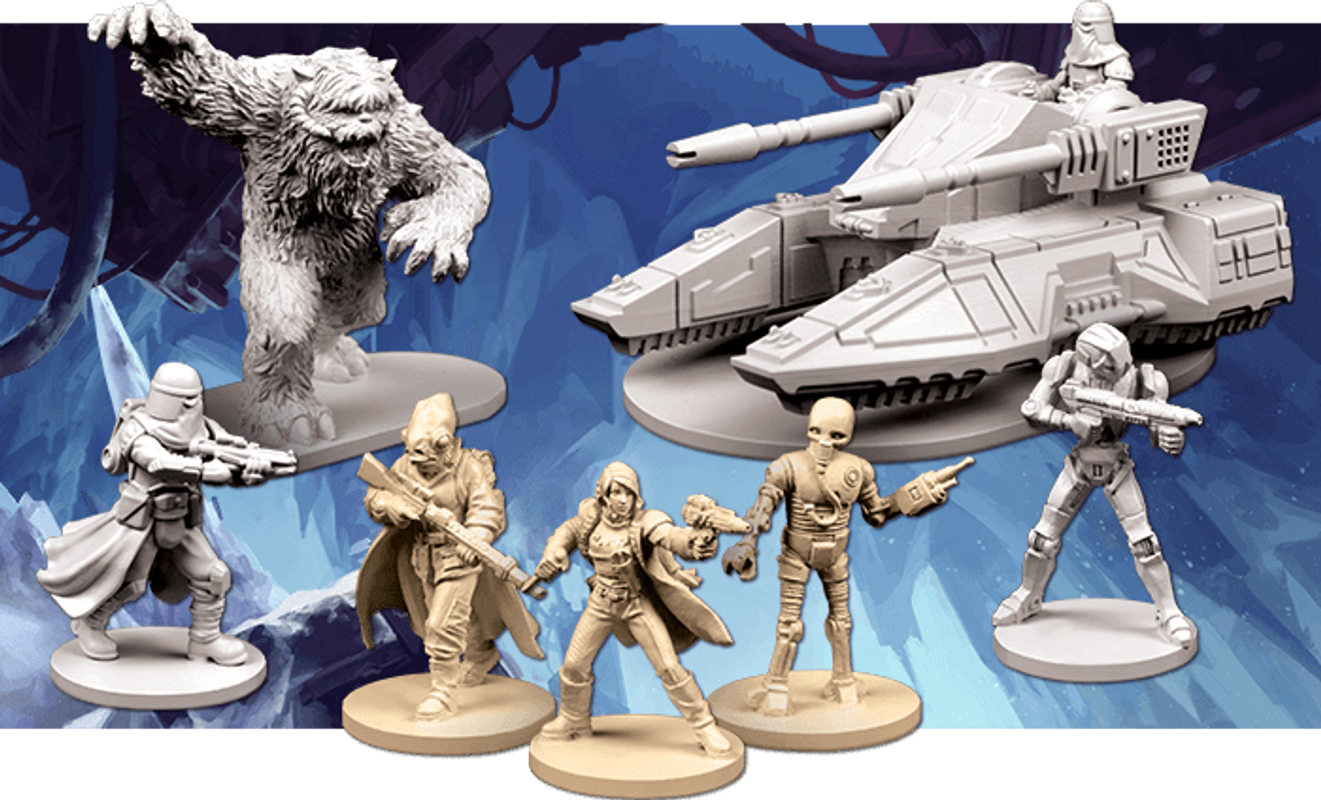Star Wars: Imperial Assault - Return to Hoth miniatures