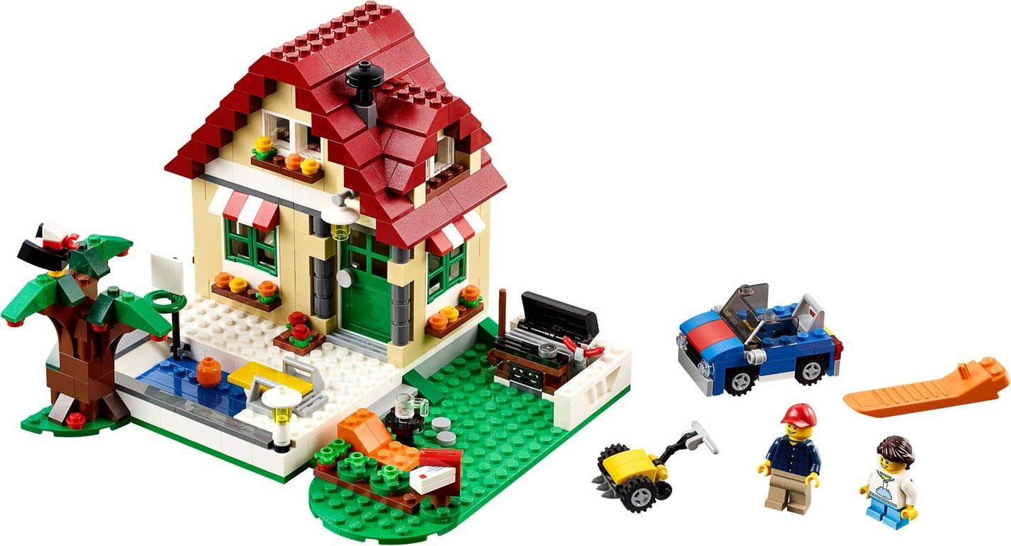 LEGO® Creator Changing Seasons components