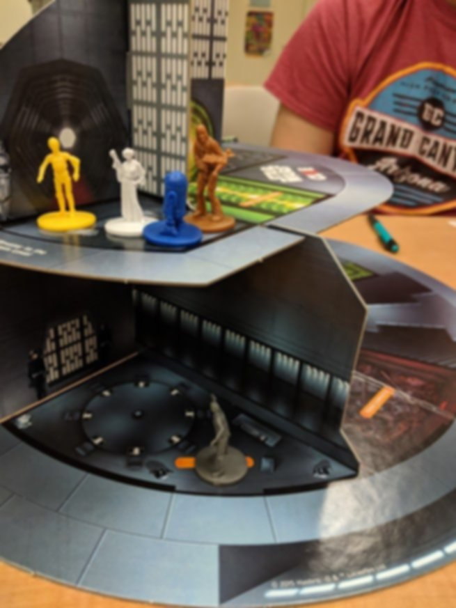 Clue: Star Wars edition gameplay