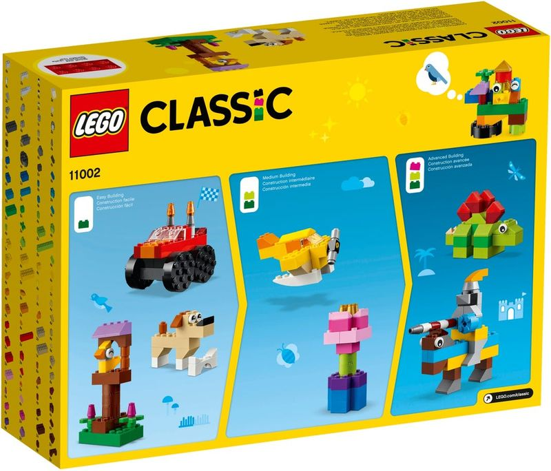 LEGO® Classic Basic Brick Set back of the box