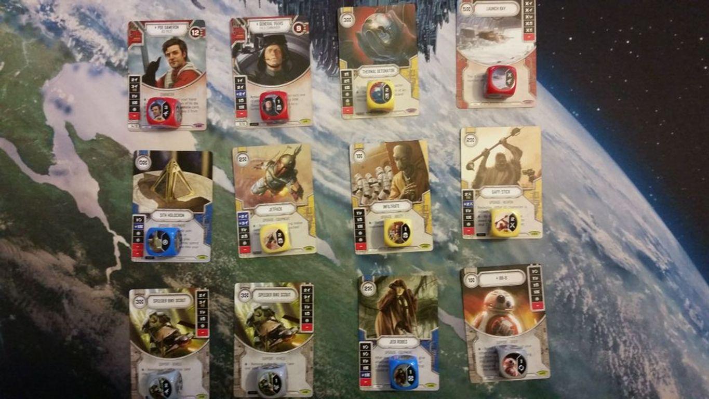 Star Wars: Destiny - Awakenings Booster Pack cards
