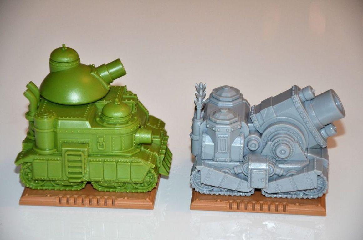 Rivet Wars: Heavy Metal miniatures