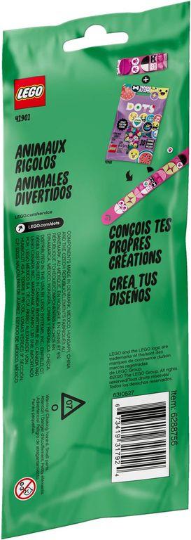 Funky Animals Bracelet back of the box