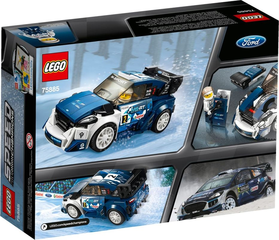 Ford Fiesta M-Sport WRC back of the box