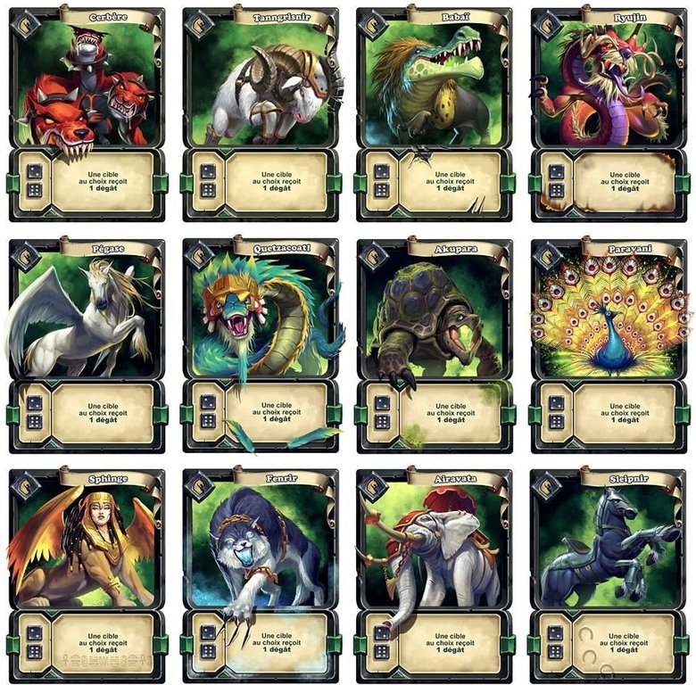 Arena: For the Gods! cards