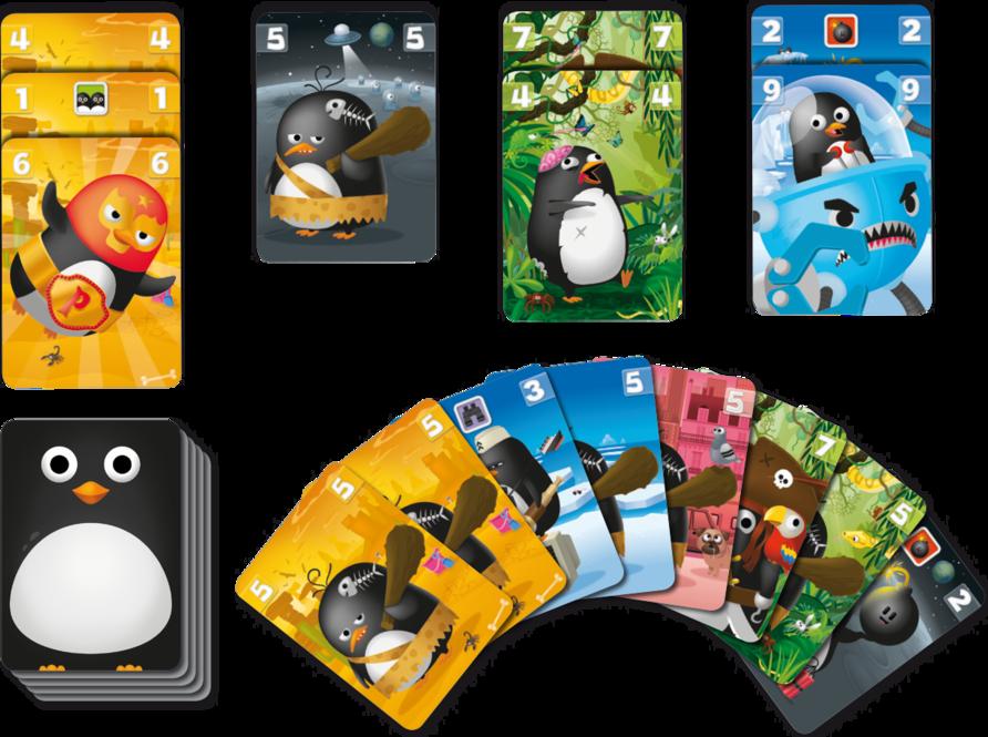 Zany Penguins cards