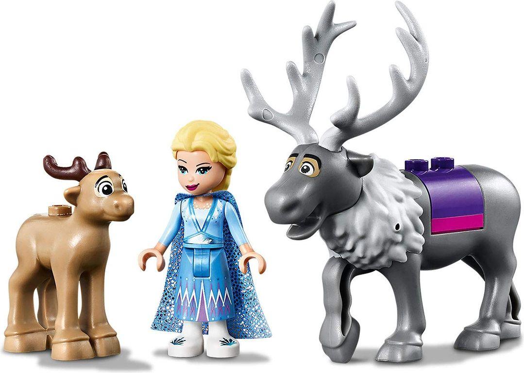Elsa's Wagon Adventure characters
