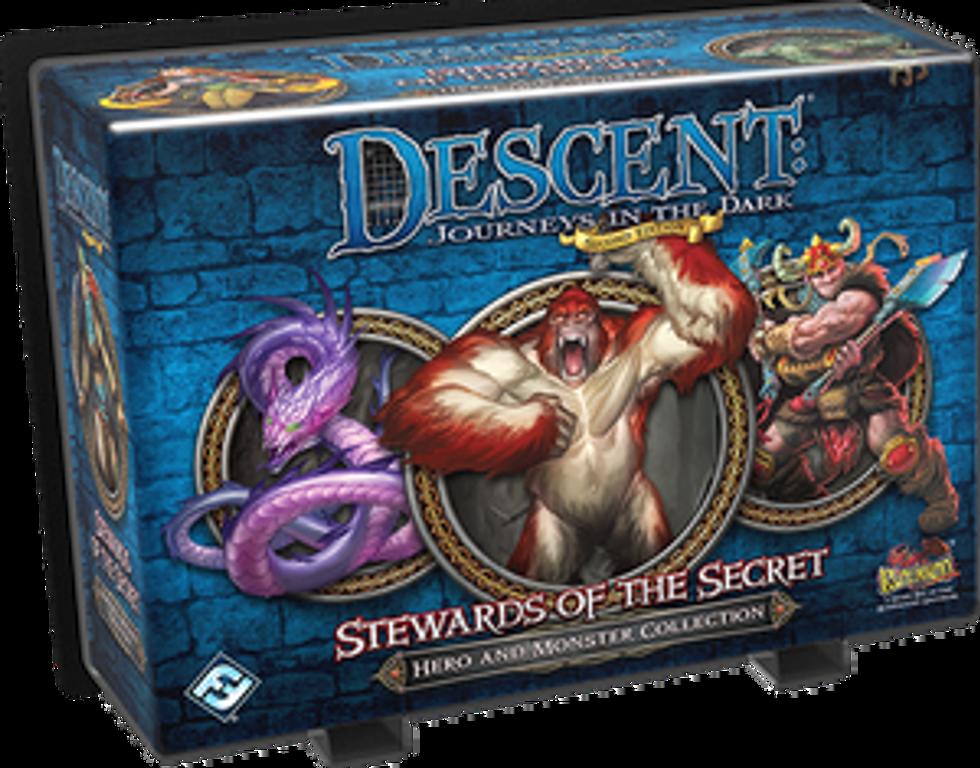 Descent: Journeys in the Dark (Second Edition) - Stewards of the Secret