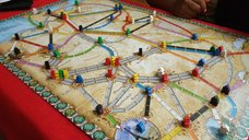 Ticket to Ride: Germany components