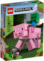 LEGO® Minecraft Bigfig Pig with Zombie baby