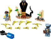 LEGO® Ninjago Epic Battle Set - Jay vs. Serpentine components