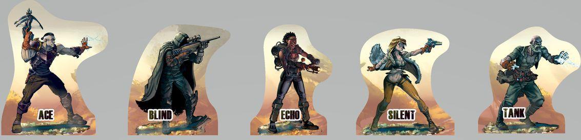 Last Heroes componenten