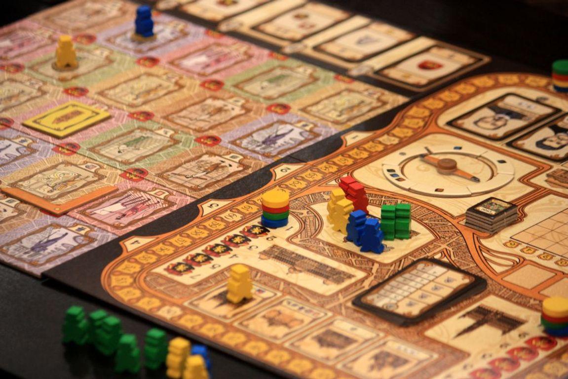 Bruxelles 1893 gameplay