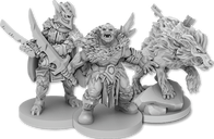 The Lord of the Rings: Journeys in Middle Earth - Villains of Eriador miniatures