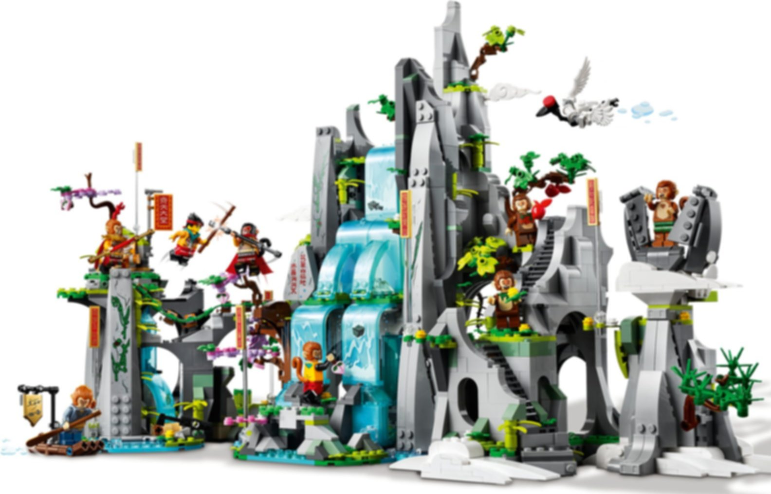 LEGO® Monkie Kid The Legendary Flower Fruit Mountain gameplay