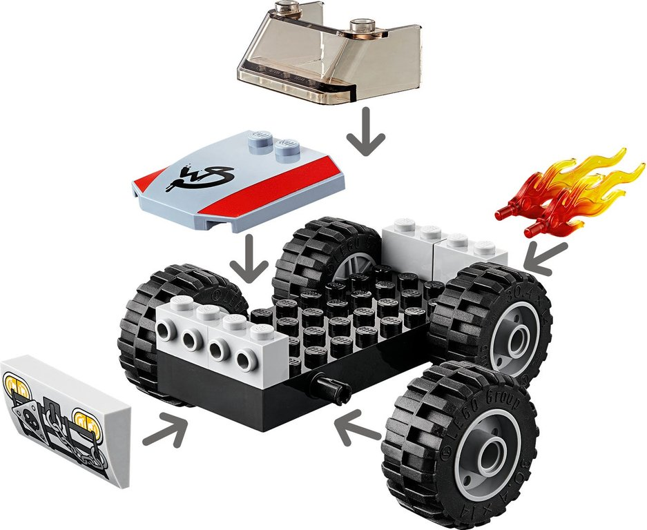 LEGO® Movie Emmet and Benny's 'Build and Fix' Workshop! components