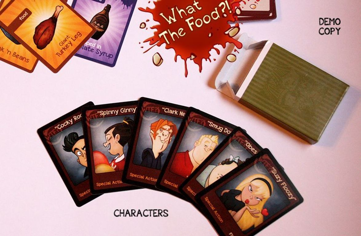What the Food?! cards