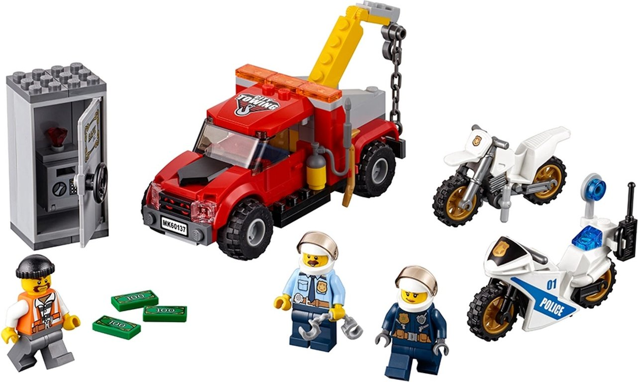 LEGO® City Tow Truck Trouble components