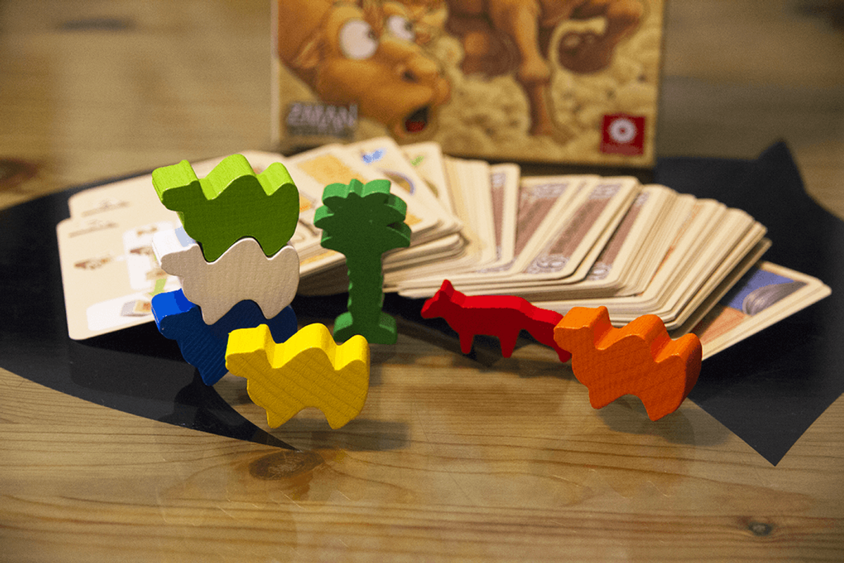 Camel up Cards components